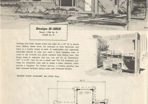 1950s Home Floor Plans 1950 Ranch House Plans Lovely Vintage House Plans Mid