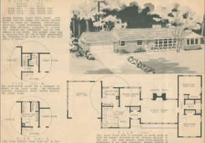 1950s Home Floor Plans 1960 Ranch Style Homes 1950 Ranch Style House Plans for