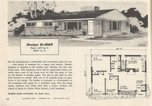 1950s Home Floor Plans Vintage House Plans 196 Antique Alter Ego