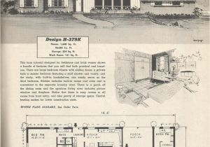 1950s Home Floor Plans Vintage House Plans 379k Antique Alter Ego