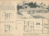 1950s Home Plans 1950 Ranch Style House Plans Modern House Plan Modern