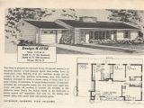 1950s Home Plans Vintage House Plans 173 Antique Alter Ego