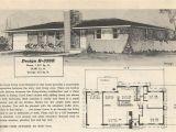 1950s Home Plans Vintage House Plans 359 Antique Alter Ego
