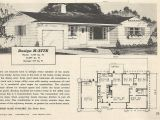 1950s Home Plans Vintage House Plans 377 Antique Alter Ego