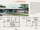 1960s Home Plans 1960 Mid Century Modern Ranch the Delray Liberty Ready