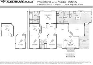 1998 Fleetwood Mobile Home Floor Plans 1998 Fleetwood Mobile Home Floor Plans Best Of New 1997