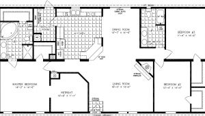 1999 Mobile Home Floor Plans 1999 Redman Mobile Home Floor Plans 1999 Redman Mobile