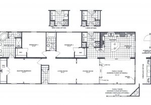 1999 Redman Mobile Home Floor Plans 1999 Oakwood Mobile Home Floor Plans