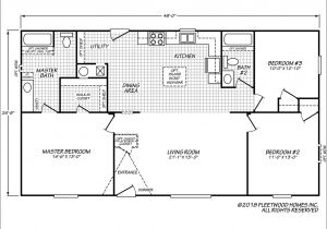 1999 Redman Mobile Home Floor Plans Fleetwood Manufactured Home Plans