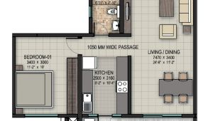 1bhk Home Plan Upcoming 1 Bhk 2 Bhk Residential Apartment Flats for