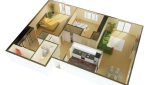 2 Bdrm House Plans 2 Bedroom Apartment House Plans
