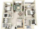 2 Bdrm House Plans 2 Bedroom Apartment House Plans