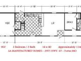 2 Bedroom 1 Bath Single Wide Mobile Home Floor Plans Single Wide Trailer Home Floor Plans Modern Modular Home