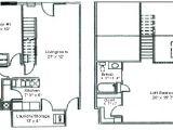 2 Bedroom 2 Bath with Loft House Plans Floor Plan Two Bedroom Loft Woodsview Apartments