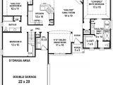 2 Bedroom and 2 Bathroom House Plans 654350 3 Bedroom 2 Bath House Plan House Plans Floor