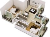 2 Bedroom Floor Plans Home 25 Two Bedroom House Apartment Floor Plans