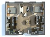 2 Bedroom Home Plan 2 Bedroom Apartment House Plans