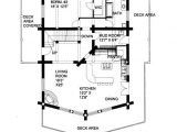 2 Bedroom Log Home Plans Plan 039 00003 2 Bedroom 2 Bath Log Home Plan