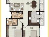 2 Bhk Home Plan 1 Bhk 2 Bhk and 3 Bhk Apartments In Coimbatore sobha Elan