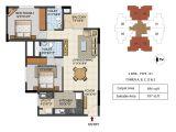 2 Bhk Home Plan Urbana Aqua 2 3 4 Bhk Luxury Apartments Floor Plans 2 3