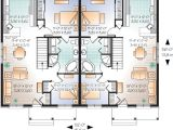 2 Family Home Plans Multi Family Plan 76176 at Familyhomeplans Com