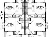2 Family House Plans Narrow Lot Narrow Lot Multi Family Home 69464am 2nd Floor Master