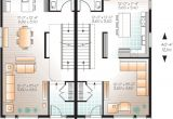 2 Family House Plans Narrow Lot Narrow Lot Multi Family Home Plan 22327dr 2nd Floor