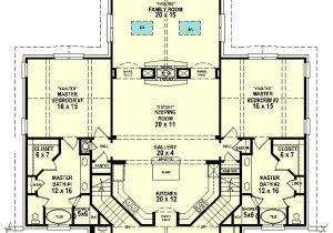 2 Master Suite Home Plans Dual Master Suites 58566sv 1st Floor Master Suite Cad