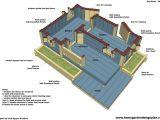 2 Room Dog House Plans 2 Room Dog House Plans Unique Home Garden Plans Dh300 Dog