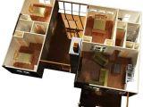 2 Room Dog House Plans 3 Bedroom Dog Trot House Plan 92318mx 1st Floor Master