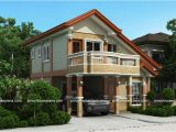 2 Storey Home Plans PHP 2015021 Two Storey House Plan with Balcony Pinoy