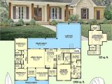 2 Story Acadian House Plans Plan 51742hz 3 Bed Acadian Home Plan with Bonus Over