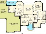 2 Story Great Room House Plans 4 Bedroom with 2 Story Great Room 89831ah