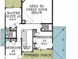 2 Story Great Room House Plans Beach House Plan with Two Story Great Room 13034fl 1st
