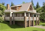 2 Story Home Plans with Basement Hillside House Plans with Walkout Basement Hillside House