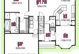 2 Story House Plans 2000 Square Feet Colonial House Plan 3 Bedrooms 2 Bath 2000 Sq Ft Plan