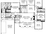 2 Story House Plans 2000 Square Feet southern House Plan 4 Bedrooms 2 Bath 2000 Sq Ft Plan