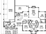 2 Story House Plans with Curved Staircase Colonial Home Plans Circular Stair 5000 Sf 2 Story 4 Br 5