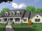 2 Story House Plans with Dormers Bonus Space Over Side Entry Garage 7423rd 1st Floor