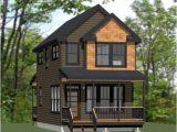 2 Story Tiny Home Plans Two Story Tiny House Plan Tiny House Cabins Montana