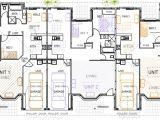 2 Unit Home Plans 3 Unit Triplex Design Kit Home Designs Australian Kit