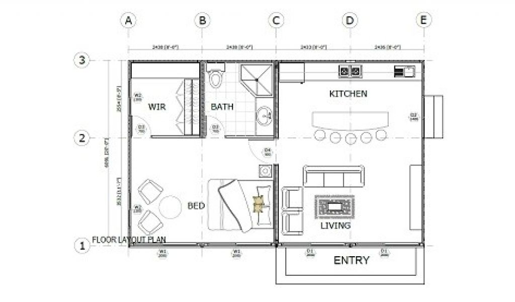 20 Foot Container Home Floor Plans Shipping Container Home