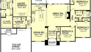 2000 Sf Home Plans European Style House Plan 4 Beds 2 Baths 2000 Sq Ft Plan