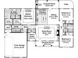 2000 Sq Ft Home Plan Country Style House Plan 3 Beds 2 50 Baths 2000 Sq Ft