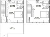 20×20 Home Plans 20×20 House Plans 20×20 Duplex 20x20h1 683 Sq Ft Excellent