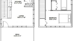 20×20 Home Plans 20×20 House Plans Garden Home Tiny House Ideas