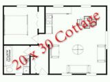 20×30 House Designs and Plans 20×30 Guest House Plans Guest Pool Houses Pinterest