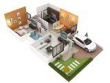 20×40 House Plan 3d Sanskaar Panache