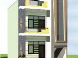 20×40 House Plan Elevation 3d fornt Elevation Gharexpert