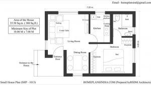 20×40 House Plans India 20×40 One Bedroom House Plans Joy Studio Design Gallery